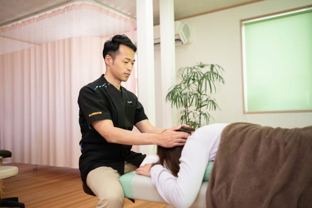 頸椎捻挫・むち打ち症 仙台市太白区で整形外科と併用できる鍼灸・接骨院